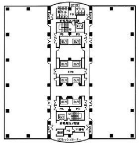 センシティビルディング:基準階図面