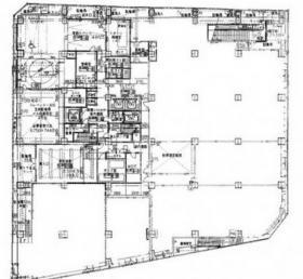 日土地千葉ビル:基準階図面