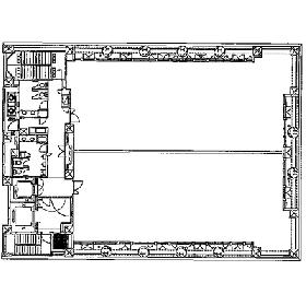 パラッツォアステックビル:基準階図面