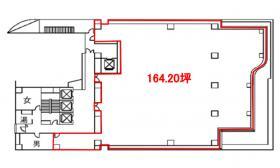 Daiwa西新橋ビル:基準階図面