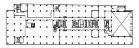 塚本千葉第5ビル:基準階図面