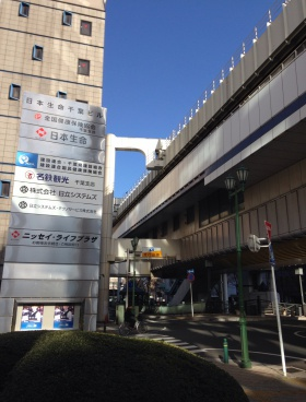 日本生命千葉ビルの内装