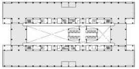 エムベイポイント幕張ビル:基準階図面