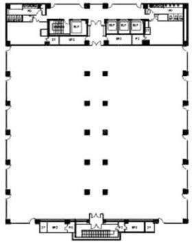 浦安ブライトンビル(旧パシフィックマークス新浦安):基準階図面