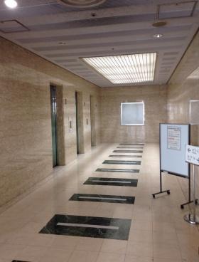 千葉中央ツイン1号館ビルの内装