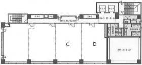 千葉本町第一生命ビル:基準階図面