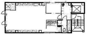 茅場町サウスビルディング:基準階図面