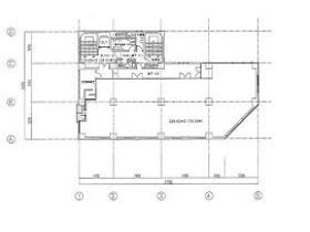 あいおいニッセイ同和損保船橋ビル:基準階図面