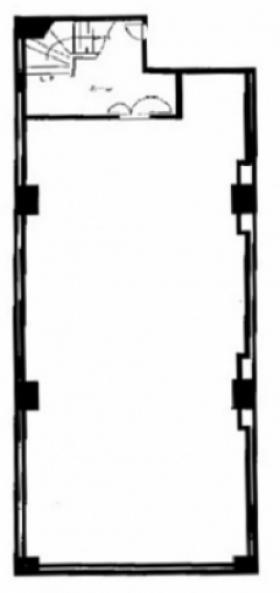ラ・パシフィックビルB:基準階図面