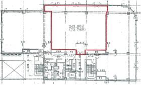 サンフラワービレッジビル:基準階図面