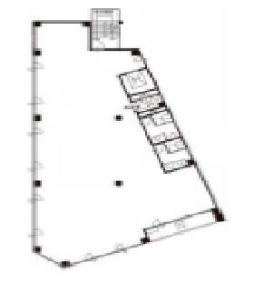 ICSTビル:基準階図面