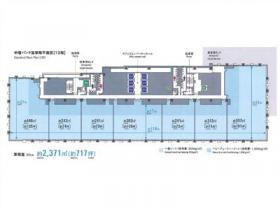 鉄鋼ビルディング:基準階図面