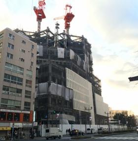 上智大学四谷キャンパス新棟計画ビルの内装