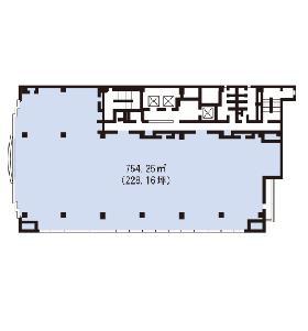 大宮MTビル:基準階図面