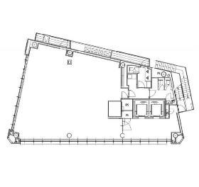 グーゴルプレックス・ミレニアムビル:基準階図面