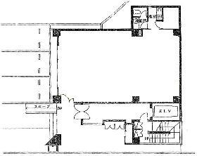 麹町MSビル:基準階図面