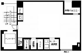 八重洲境井ビル:基準階図面