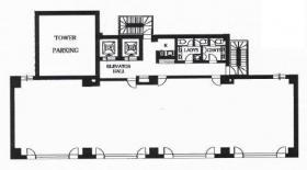 ANNI横浜EASTビル:基準階図面