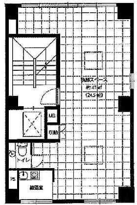 エクセル麹町ビル:基準階図面