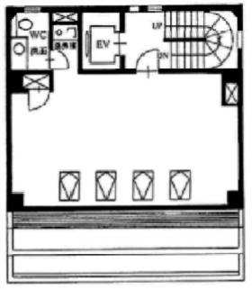 昭栄ビル:基準階図面