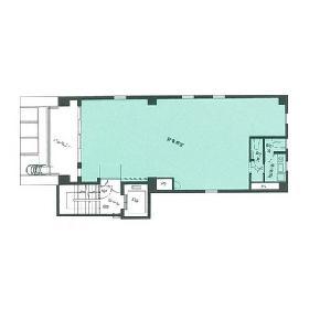 第2小川ビル:基準階図面