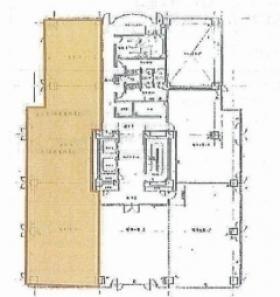 船橋サウスビル:基準階図面