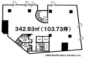 菅野屋船橋ビル:基準階図面