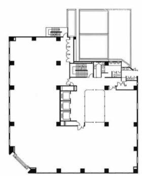船橋湊町ビル:基準階図面