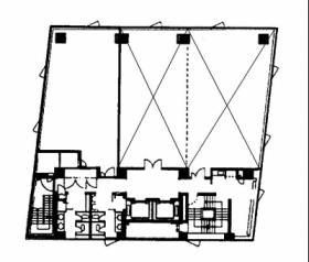 MY船橋ビル:基準階図面