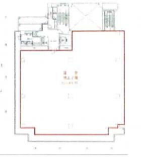 湯浅船橋ビル:基準階図面