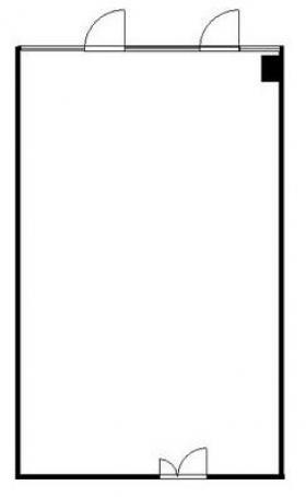 アイカワビル:基準階図面