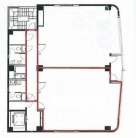 第5彰栄ビル:基準階図面