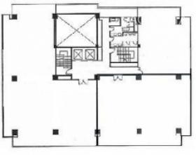 リーフスクエア柏ビル:基準階図面