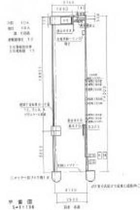 レクコーポ常盤平ビル:基準階図面