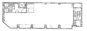松戸本町第一ビル:基準階図面