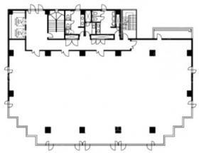 成田TTビル:基準階図面