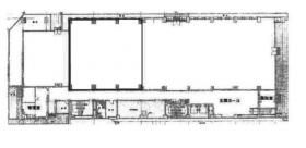 千葉第一生命ビルディング:基準階図面