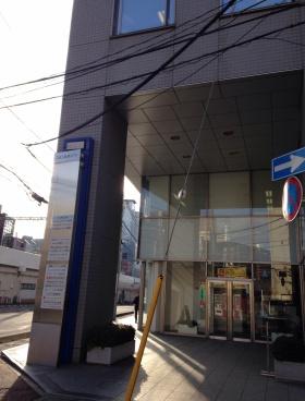 IMI未来ビル(旧千葉新田町第一生命ビル)のエントランス