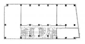 IMI未来ビル(旧千葉新田町第一生命ビル):基準階図面