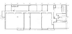 ダイトー千葉ポートセンタービル:基準階図面