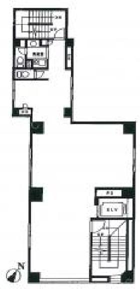 リブラ岩本町Ⅰ:基準階図面