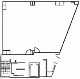 ジブラルタ生命川口ビル:基準階図面