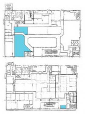 志木鹿島ビル:基準階図面