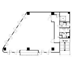 A・I・Kビル:基準階図面