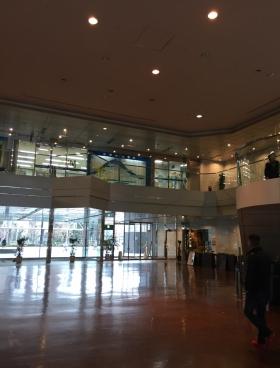 エステック情報ビルの内装