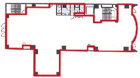 関内不動産元町第2ビル:基準階図面
