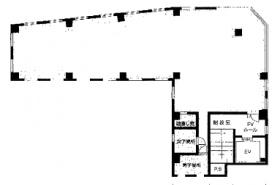 松亀センタービル2:基準階図面
