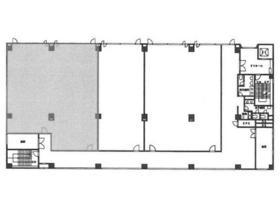 アルーサ北与野ビル:基準階図面