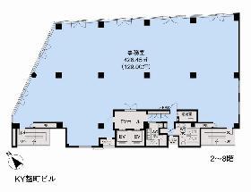 KY麹町ビル:基準階図面
