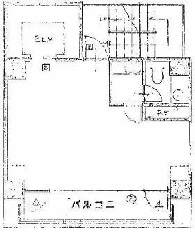 港新川ビル:基準階図面